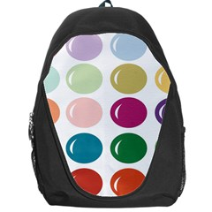 Brights Pastels Bubble Balloon Color Rainbow Backpack Bag
