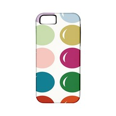 Brights Pastels Bubble Balloon Color Rainbow Apple iPhone 5 Classic Hardshell Case (PC+Silicone)