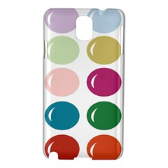 Brights Pastels Bubble Balloon Color Rainbow Samsung Galaxy Note 3 N9005 Hardshell Case