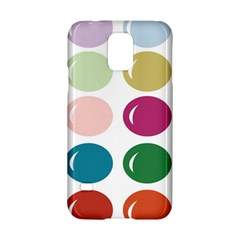 Brights Pastels Bubble Balloon Color Rainbow Samsung Galaxy S5 Hardshell Case