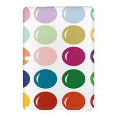 Brights Pastels Bubble Balloon Color Rainbow Samsung Galaxy Tab Pro 10.1 Hardshell Case