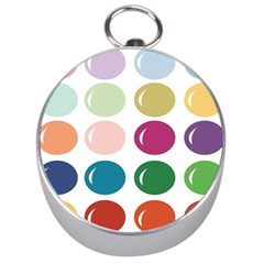 Brights Pastels Bubble Balloon Color Rainbow Silver Compasses