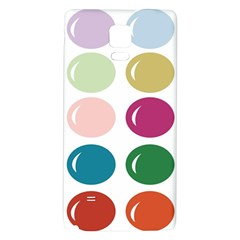 Brights Pastels Bubble Balloon Color Rainbow Galaxy Note 4 Back Case
