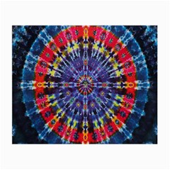 Circle Purple Green Tie Dye Kaleidoscope Opaque Color Small Glasses Cloth