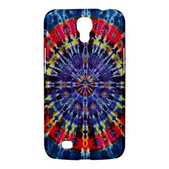 Circle Purple Green Tie Dye Kaleidoscope Opaque Color Samsung Galaxy Mega 6.3  I9200 Hardshell Case