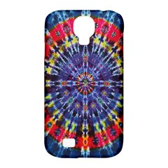 Circle Purple Green Tie Dye Kaleidoscope Opaque Color Samsung Galaxy S4 Classic Hardshell Case (PC+Silicone)