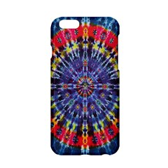 Circle Purple Green Tie Dye Kaleidoscope Opaque Color Apple iPhone 6/6S Hardshell Case