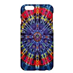 Circle Purple Green Tie Dye Kaleidoscope Opaque Color Apple iPhone 6 Plus/6S Plus Hardshell Case