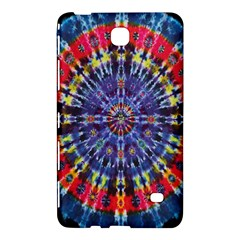 Circle Purple Green Tie Dye Kaleidoscope Opaque Color Samsung Galaxy Tab 4 (8 ) Hardshell Case