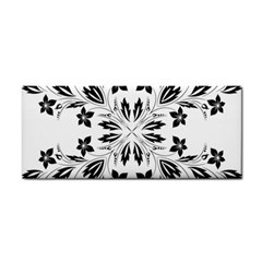 Floral Element Black White Cosmetic Storage Cases