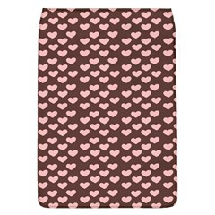 Chocolate Pink Hearts Gift Wrap Flap Covers (L)