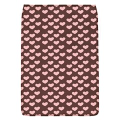 Chocolate Pink Hearts Gift Wrap Flap Covers (S)