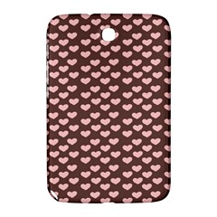 Chocolate Pink Hearts Gift Wrap Samsung Galaxy Note 8.0 N5100 Hardshell Case