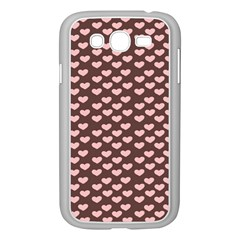 Chocolate Pink Hearts Gift Wrap Samsung Galaxy Grand DUOS I9082 Case (White)