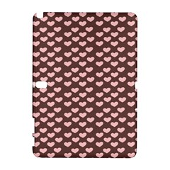Chocolate Pink Hearts Gift Wrap Galaxy Note 1