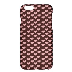 Chocolate Pink Hearts Gift Wrap Apple iPhone 6 Plus/6S Plus Hardshell Case
