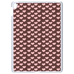 Chocolate Pink Hearts Gift Wrap Apple Ipad Pro 9 7   White Seamless Case