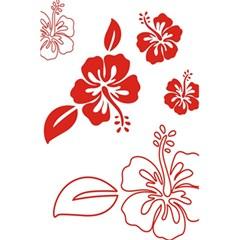 Hawaiian Flower Red Sunflower 5.5  x 8.5  Notebooks