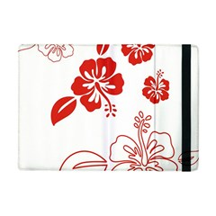 Hawaiian Flower Red Sunflower Apple iPad Mini Flip Case