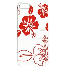 Hawaiian Flower Red Sunflower Apple iPhone 5 Hardshell Case with Stand