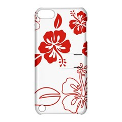 Hawaiian Flower Red Sunflower Apple iPod Touch 5 Hardshell Case with Stand