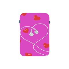 Heart Love Pink Red Apple iPad Mini Protective Soft Cases