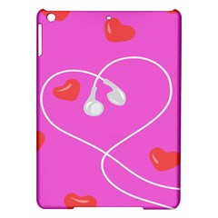 Heart Love Pink Red iPad Air Hardshell Cases
