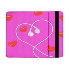 Heart Love Pink Red Samsung Galaxy Tab Pro 8.4  Flip Case
