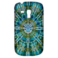 Green Flower Tie Dye Kaleidoscope Opaque Color Galaxy S3 Mini