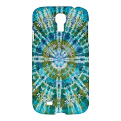 Green Flower Tie Dye Kaleidoscope Opaque Color Samsung Galaxy S4 I9500/I9505 Hardshell Case