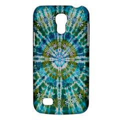 Green Flower Tie Dye Kaleidoscope Opaque Color Galaxy S4 Mini