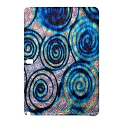 Green Blue Circle Tie Dye Kaleidoscope Opaque Color Samsung Galaxy Tab Pro 12.2 Hardshell Case