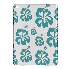 Hibiscus Flowers Green White Hawaiian Blue Ipad Air 2 Hardshell Cases