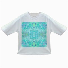Green Tie Dye Kaleidoscope Opaque Color Infant/Toddler T-Shirts
