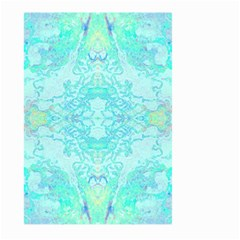 Green Tie Dye Kaleidoscope Opaque Color Large Garden Flag (Two Sides)