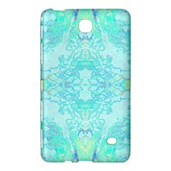 Green Tie Dye Kaleidoscope Opaque Color Samsung Galaxy Tab 4 (7 ) Hardshell Case