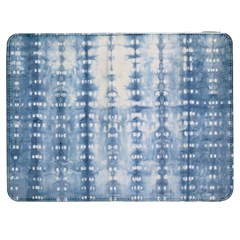 Indigo Grey Tie Dye Kaleidoscope Opaque Color Samsung Galaxy Tab 7  P1000 Flip Case