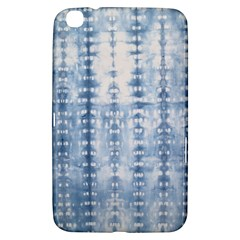 Indigo Grey Tie Dye Kaleidoscope Opaque Color Samsung Galaxy Tab 3 (8 ) T3100 Hardshell Case
