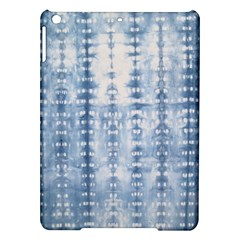 Indigo Grey Tie Dye Kaleidoscope Opaque Color Ipad Air Hardshell Cases