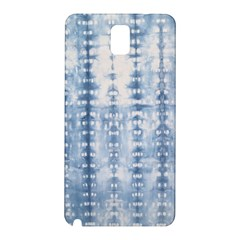 Indigo Grey Tie Dye Kaleidoscope Opaque Color Samsung Galaxy Note 3 N9005 Hardshell Back Case