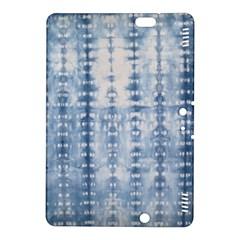Indigo Grey Tie Dye Kaleidoscope Opaque Color Kindle Fire HDX 8.9  Hardshell Case