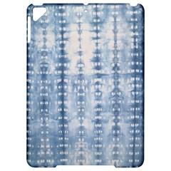 Indigo Grey Tie Dye Kaleidoscope Opaque Color Apple Ipad Pro 9 7   Hardshell Case