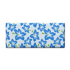 Hibiscus Flowers Seamless Blue Cosmetic Storage Cases