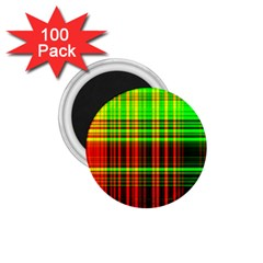 Line Light Neon Red Green 1.75  Magnets (100 pack)