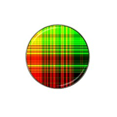 Line Light Neon Red Green Hat Clip Ball Marker (10 pack)