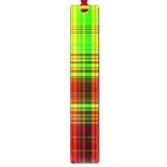 Line Light Neon Red Green Large Book Marks