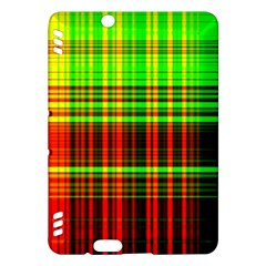 Line Light Neon Red Green Kindle Fire HDX Hardshell Case