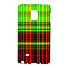 Line Light Neon Red Green Galaxy Note Edge