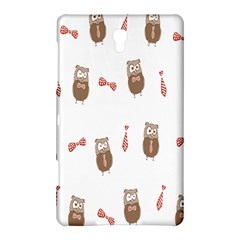Insulated Owl Tie Bow Scattered Bird Samsung Galaxy Tab S (8.4 ) Hardshell Case
