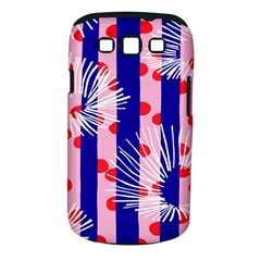 Line Vertical Polka Dots Circle Flower Blue Pink White Samsung Galaxy S Iii Classic Hardshell Case (pc+silicone)